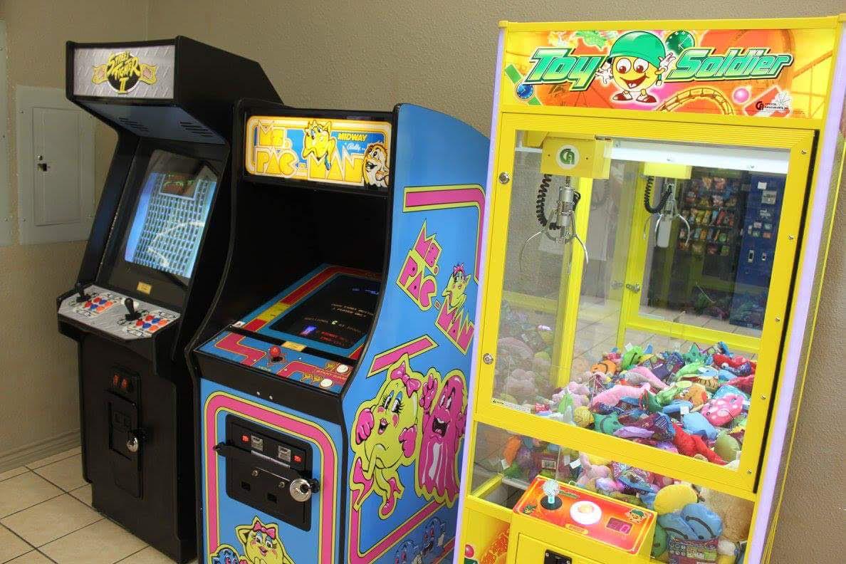 Arcades for entertainment