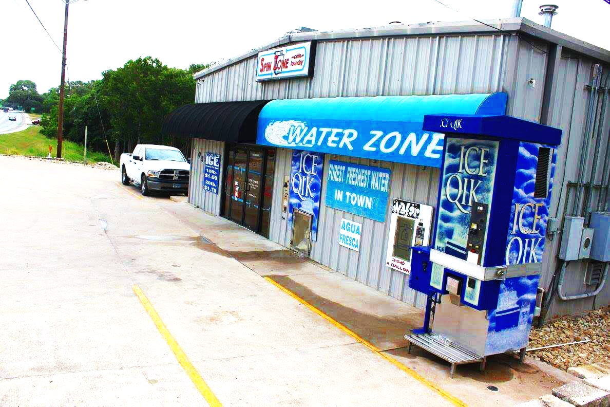 Ice & Water machines at every location