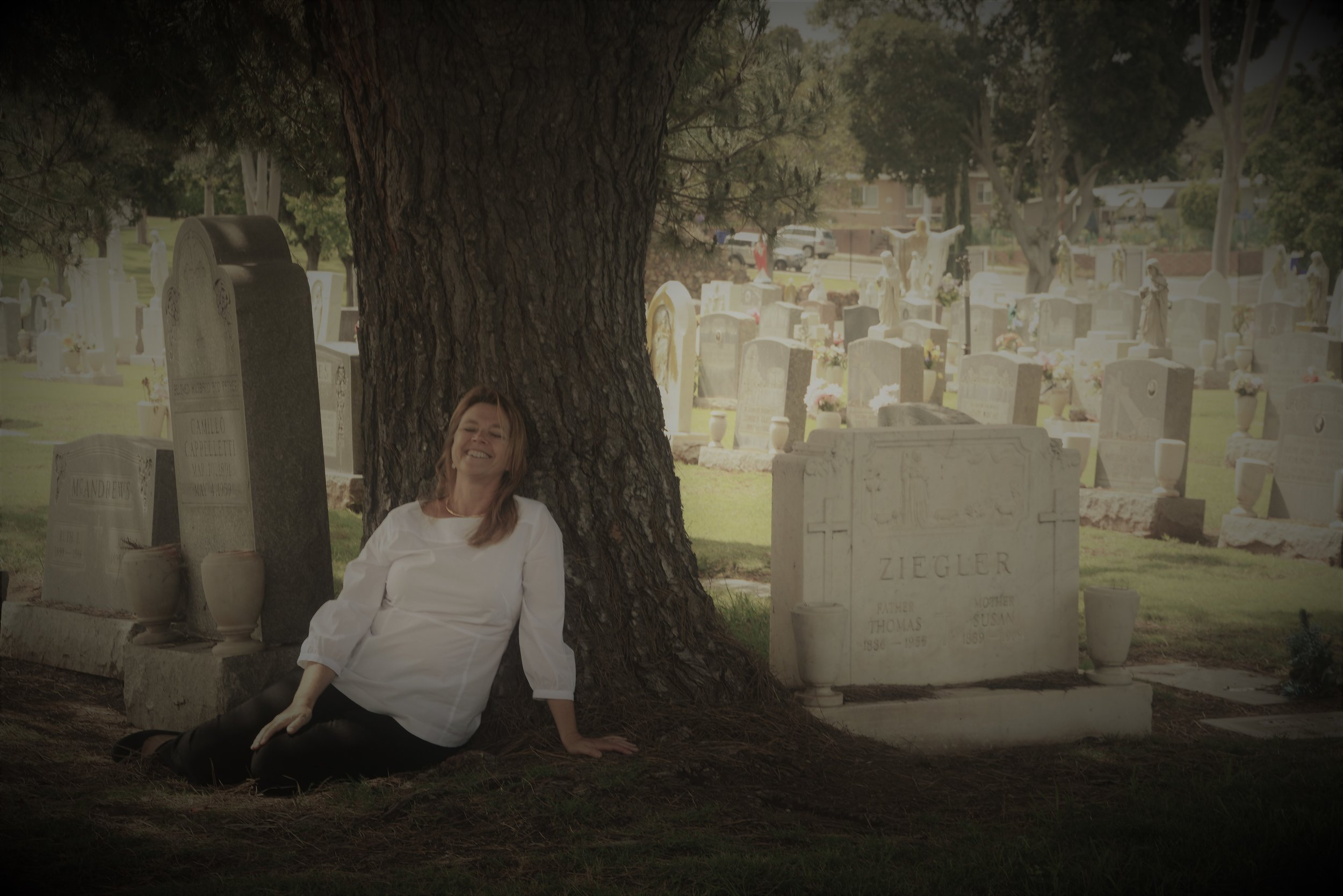 I read the gravestones and gather stories. -