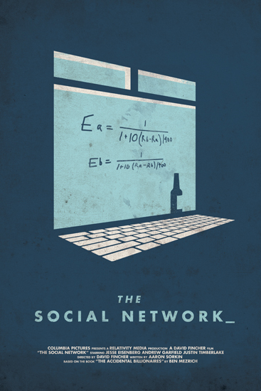 """In 2003, Harvard undergrad and computer genius Mark Zuckerberg (Jesse Eisenberg) begins work on a new concept that eventually turns into the global social network known as Facebook. Six years later, he is one of the youngest billionaires ever, but Zuckerberg finds that his unprecedented success leads to both personal and legal complications when he ends up on the receiving end of two lawsuits, one involving his former friend (Andrew Garfield)."""