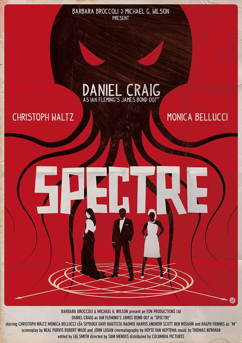 """Art by Alain Bossuyt    """"A cryptic message from Bond's past sends him on a trail to uncover a sinister organisation. While M battles political forces to keep the secret service alive, Bond peels back the layers of deceit to reveal the terrible truth behind Spectre."""""""