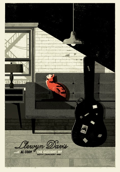 "Artwork by Unknown    ""In 1961 New York City, folk singer Llewyn Davis (Oscar Isaac) is at a crossroads. Guitar in hand, he struggles against seemingly insurmountable obstacles to make a name for himself in the music world, but so far, success remains elusive."""