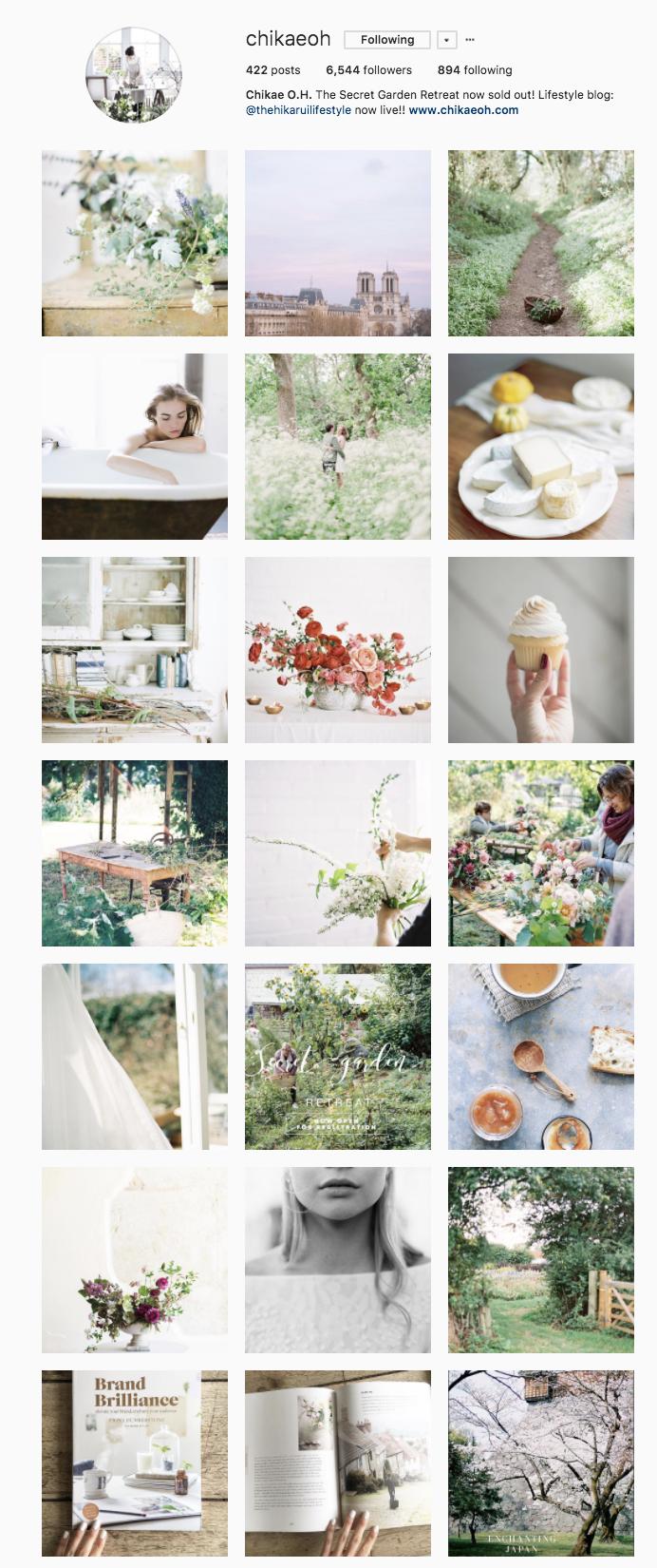 My work Instagram  @chikaeoh  Present day