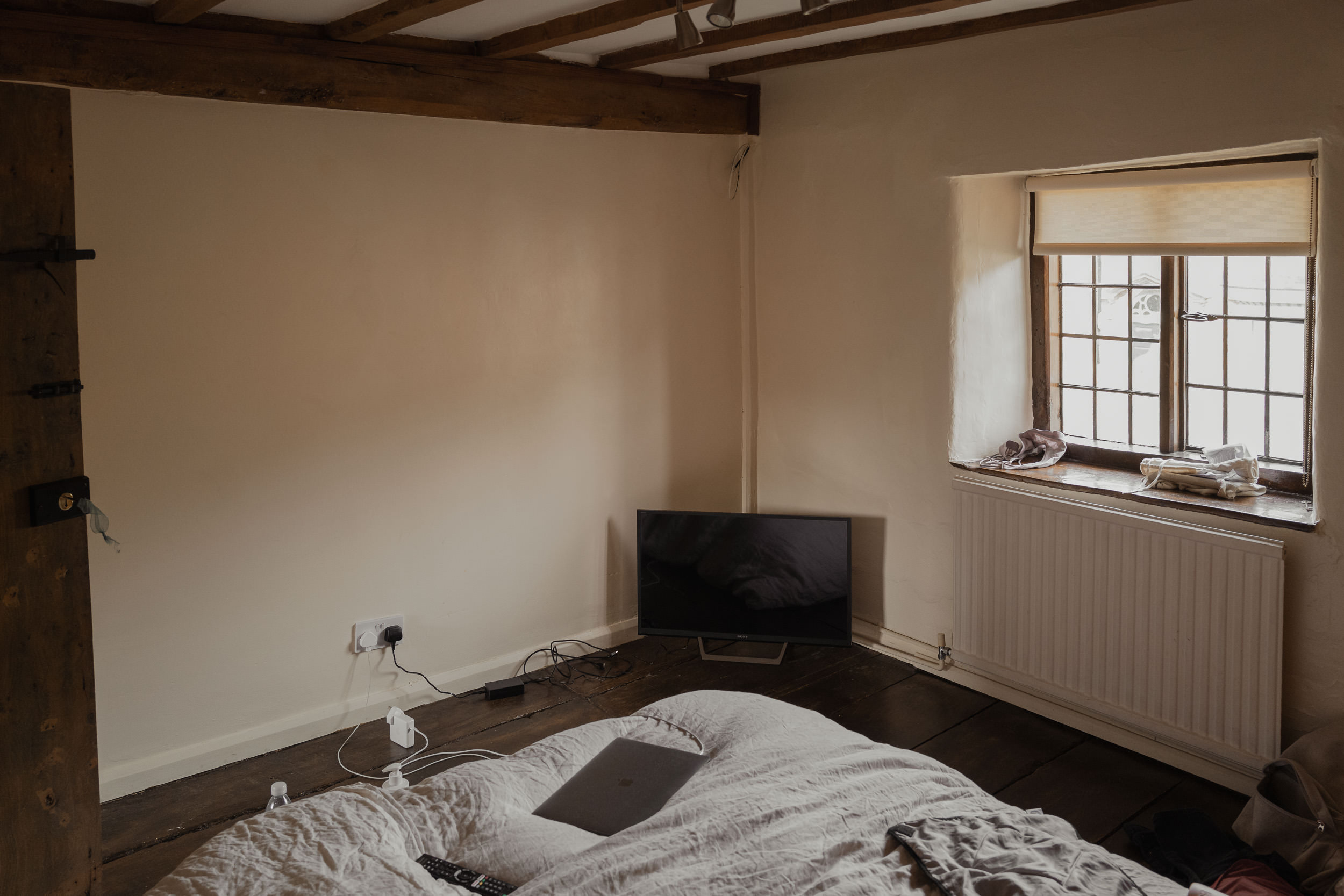 Cotswolds Cottage, before pictures, bedroom 2