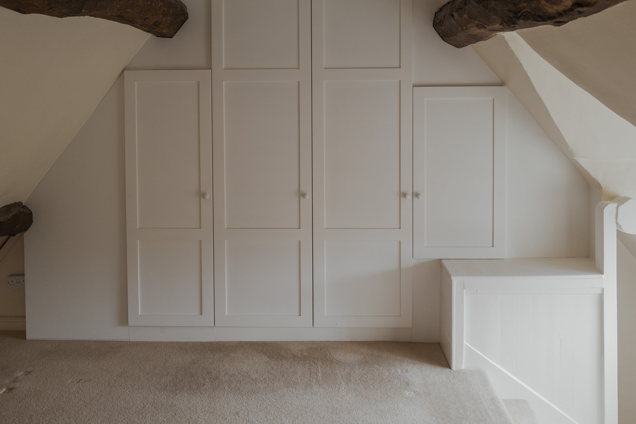 Cotswolds Cottage, before pictures, bedroom 3