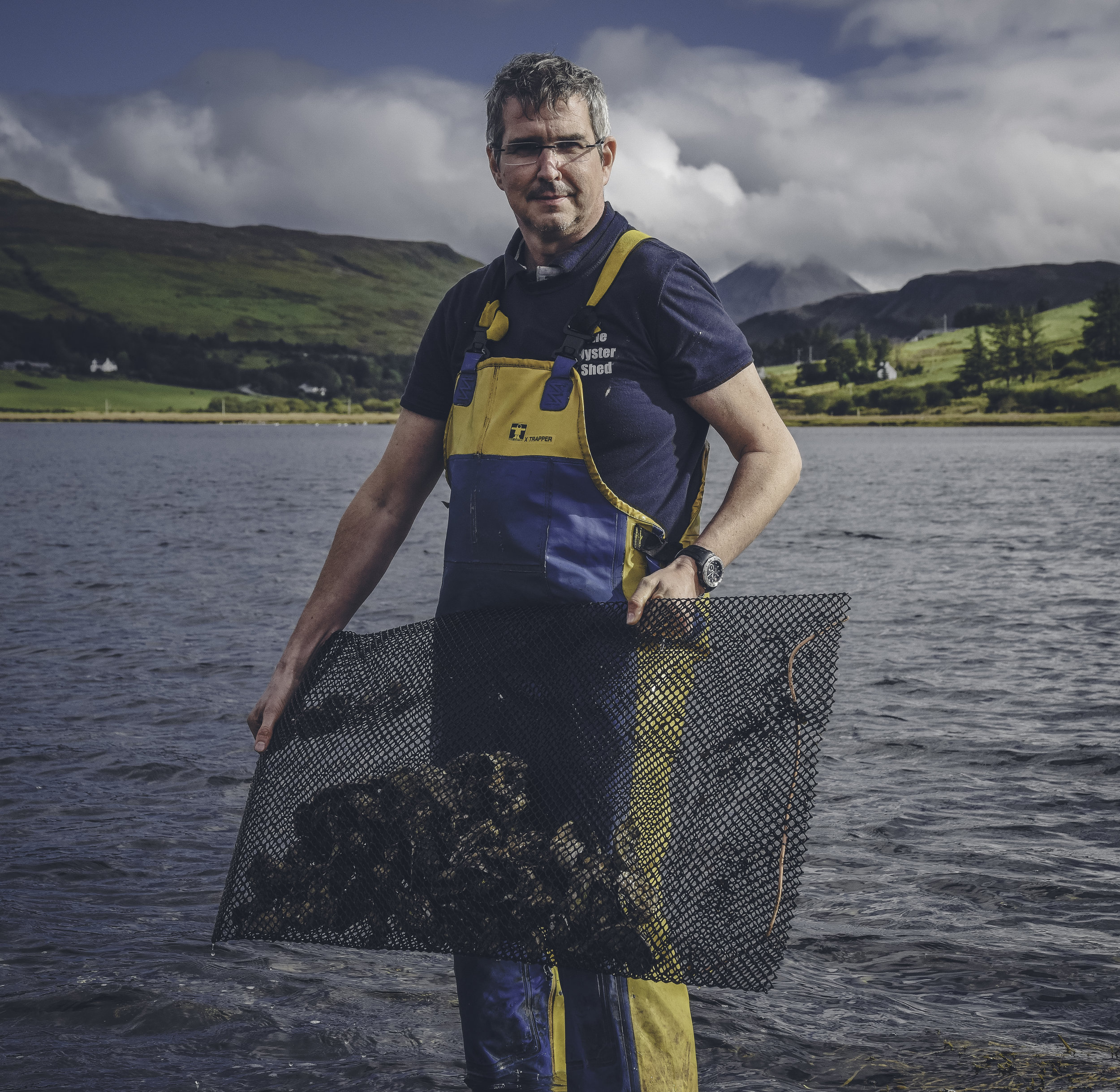 The Oysterman of Carbost - Written and photographed exclusively for the Telegraph