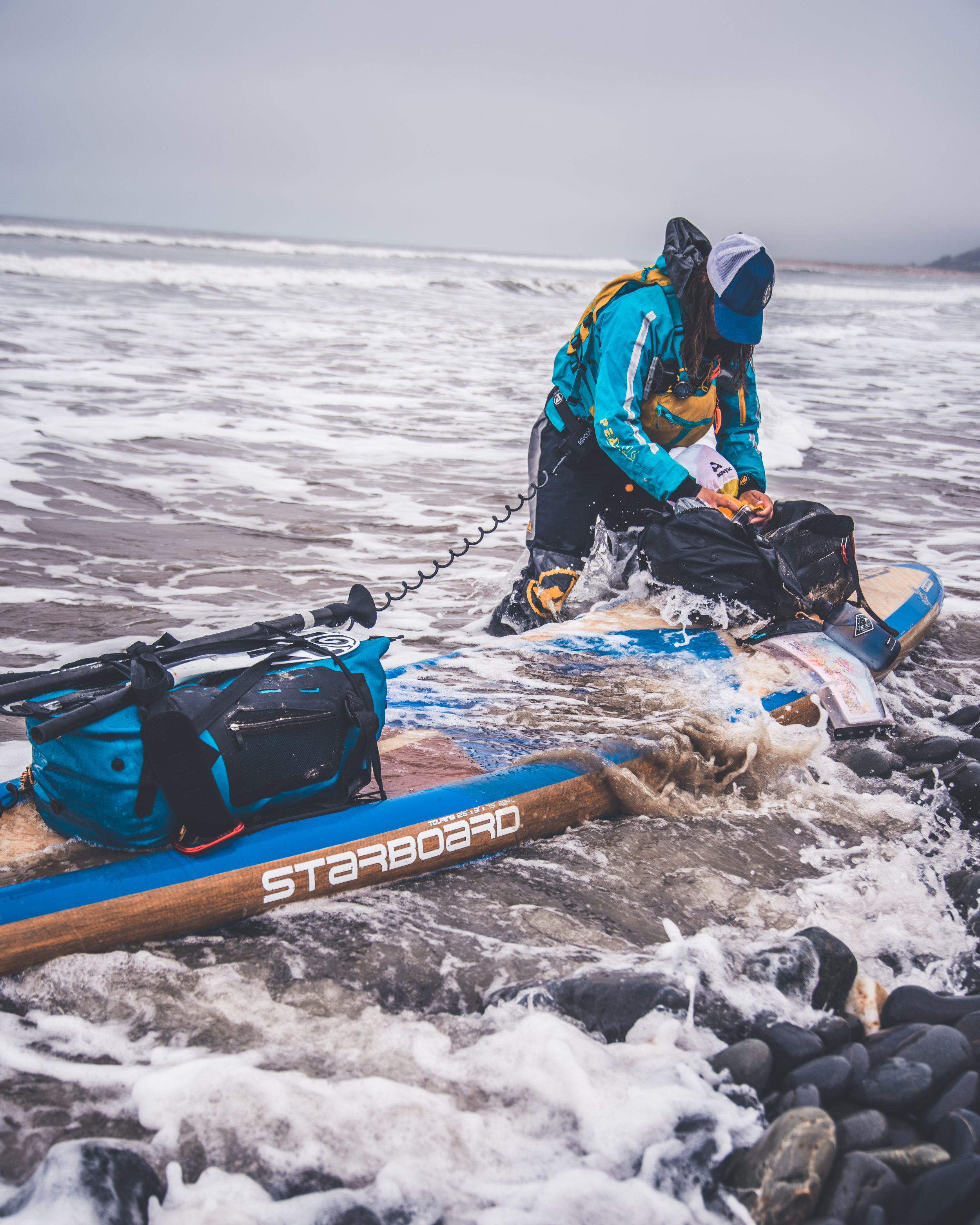 SUP AGAINST SUPWELSH COAST - Written and photographed for Sian Sykes and Sidetracked Magazine Field Journal