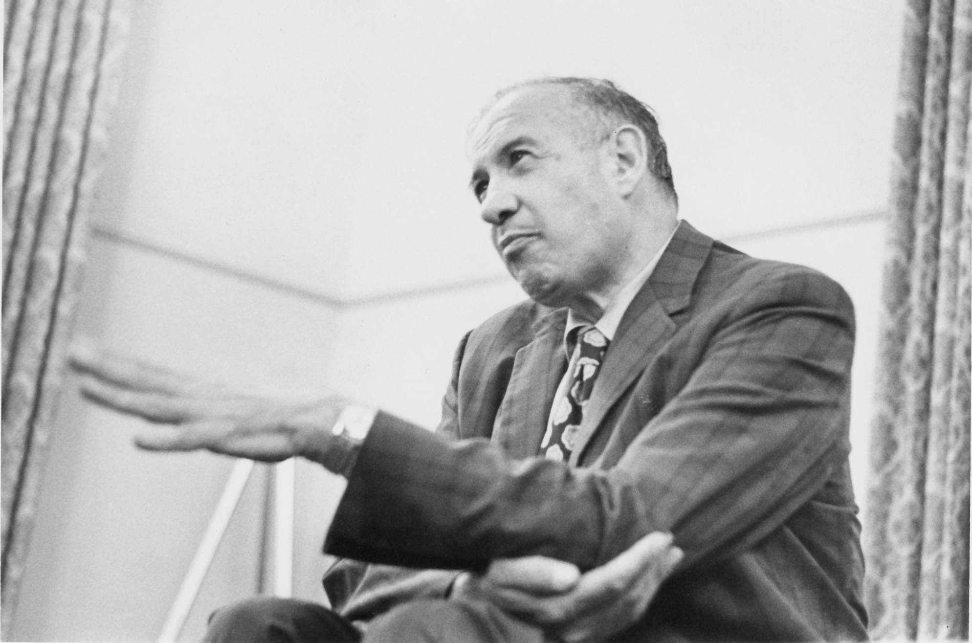 Peter Drucker (1909-2005), image courtesy of the Drucker Institute at Claremont Graduate University.