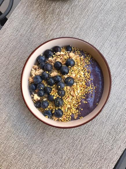 If you do experience irritability when consuming dairy, gluten or both, a dairy-free smoothie bowl with  grain-free granola  is a great breakfast option.