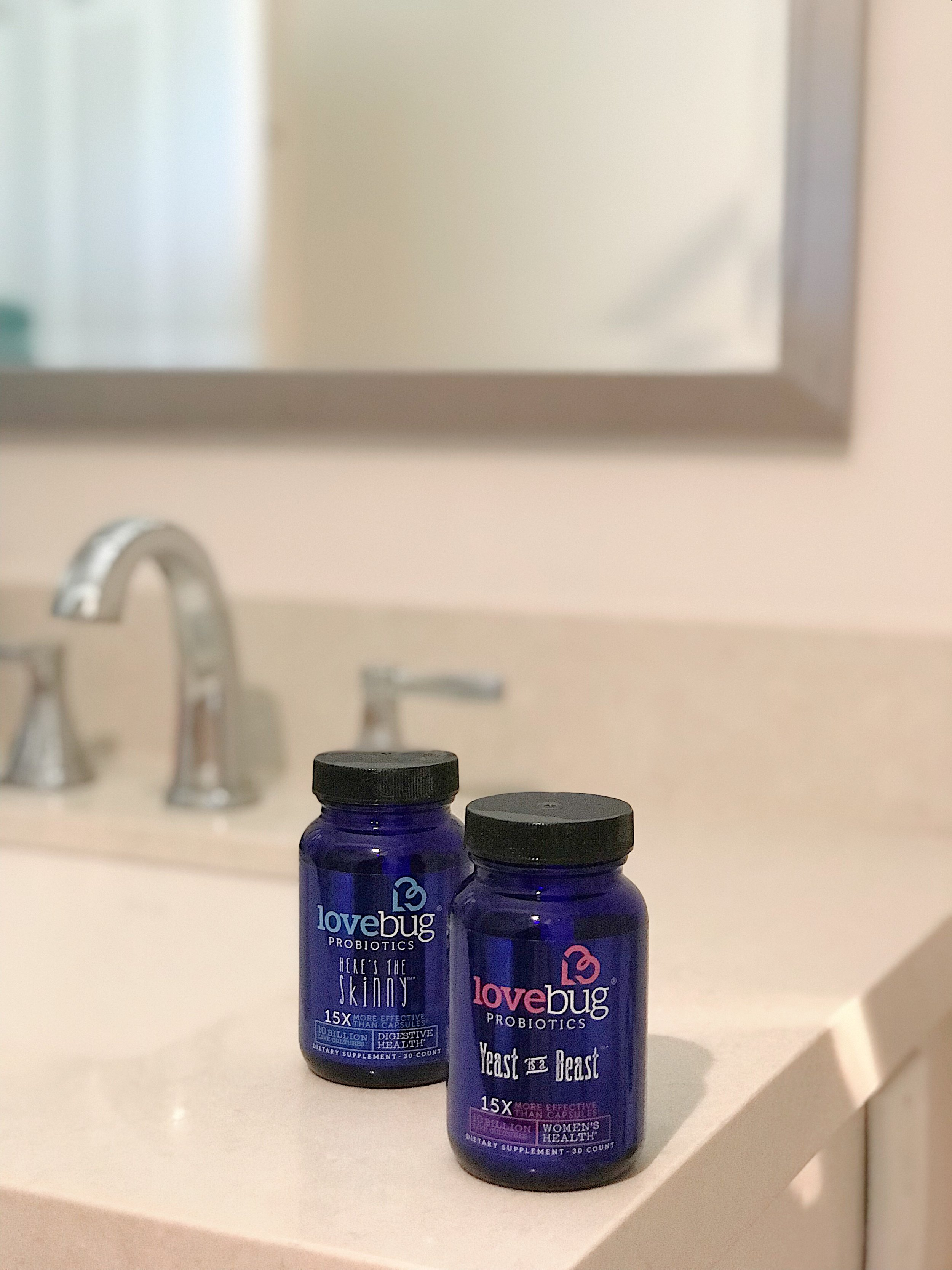 LoveBug Pro  biotics  Here's The Skinny  and  Yeast Is a Beast .    Photo:  Reformation Health