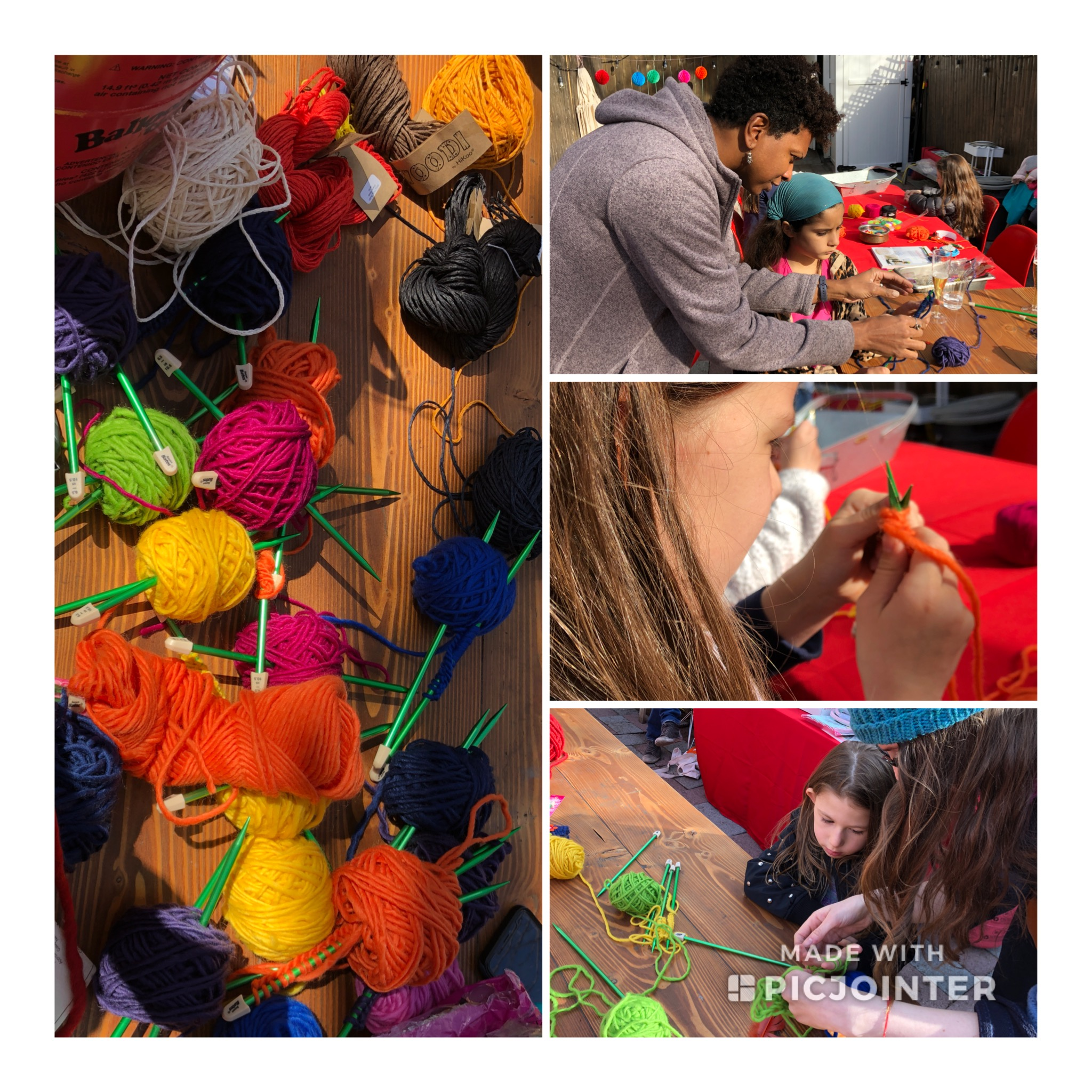 Don't we all remember - the first time we picked up yarn and knitting needles and began to create something? Here at String Thing Studio, we would love to be there at the beginning of your child's fiber journey! In this 2 hour introductory kid friendly class we introduce them to the basics of the craft. At the end of this class, if your child likes it and wants to continue, there are additional lessons that can be given to build on these skills. If you would like for your child to have a weekly program take a look at our Afterschool Program. We also offer class packs of 5 and 10 classes.This class is best suited for children ages 7-12 years old.