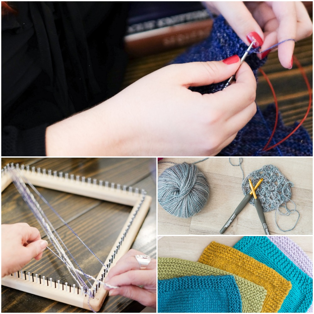 Private Lessons - For those who like to have a one on one teaching experience we offer one hour private classes in knitting, crochet, continuous strand weaving and pattern help.For children we offer half hour classes if that is something you think your child would benefit from.