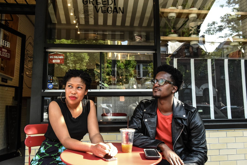 Cynthia Gordy Giwa and Glenn Alan, through their blog Black-Owned Brooklyn, have chronicled a revival of black business ownership in the borough.  CreditStephanie Keith for The New York Times