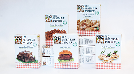 Vegetarian Butcher products.