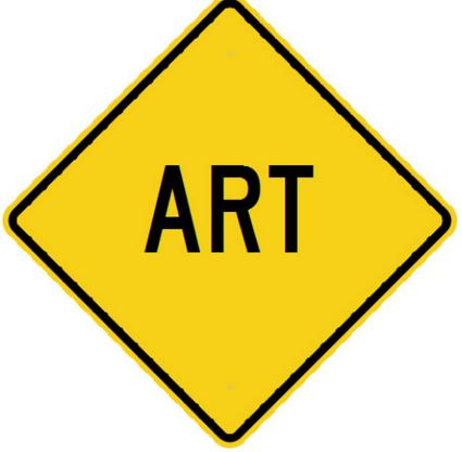 ART Caution Sign