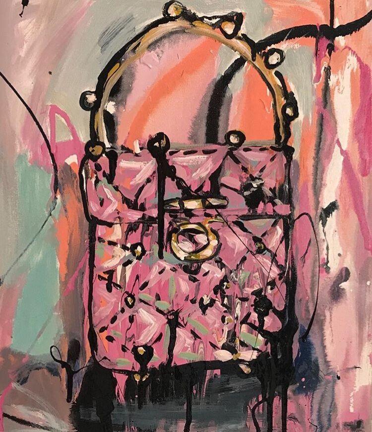 Little Pink Chanel Bag