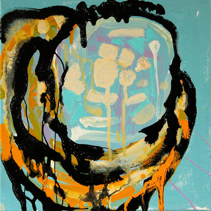 Tenenbaum (Blue on Blue Ring)