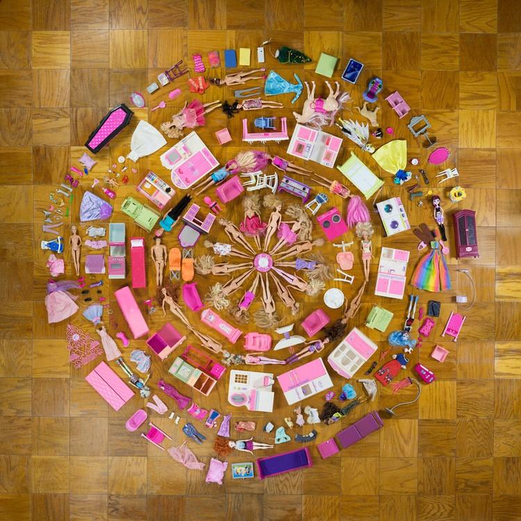 Barbie Mandala