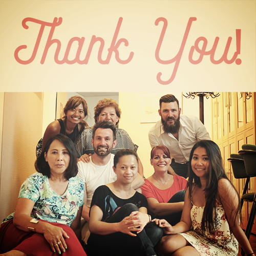 THANK YOU, YOGIS! DANK JE WEL! I would like to thank you all who came to our events. They were both huge success and we couldn't be happier meeting all of you. See you on the next events!  Namaste x