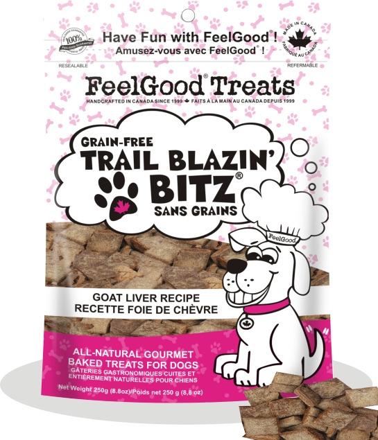Bronze treats: FeelGood Trail Blazin Bitz