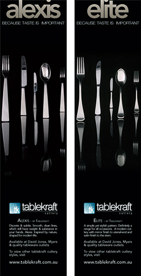 Alexis/Elite Tablekraft Cutlery