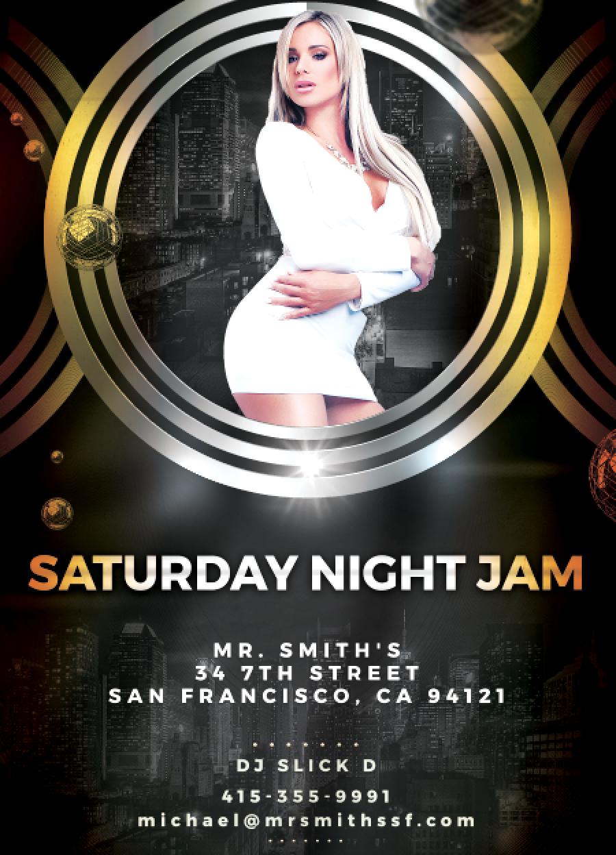 Saturday night Jam DJ Slick D screen shot.png