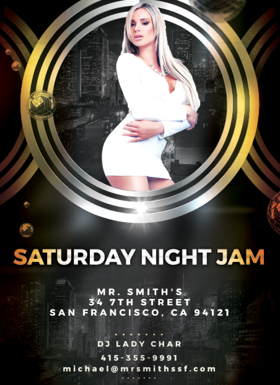 Saturday night Jam DJ Lady Char screen shot.png