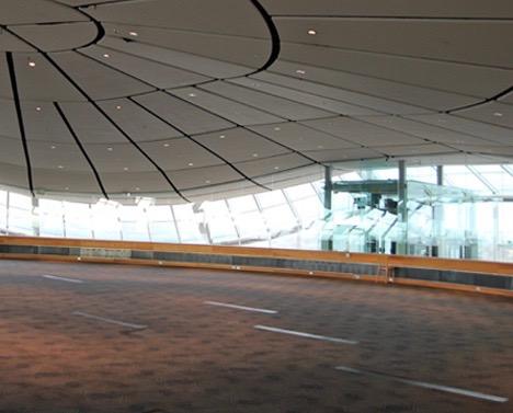 Museum event centre before
