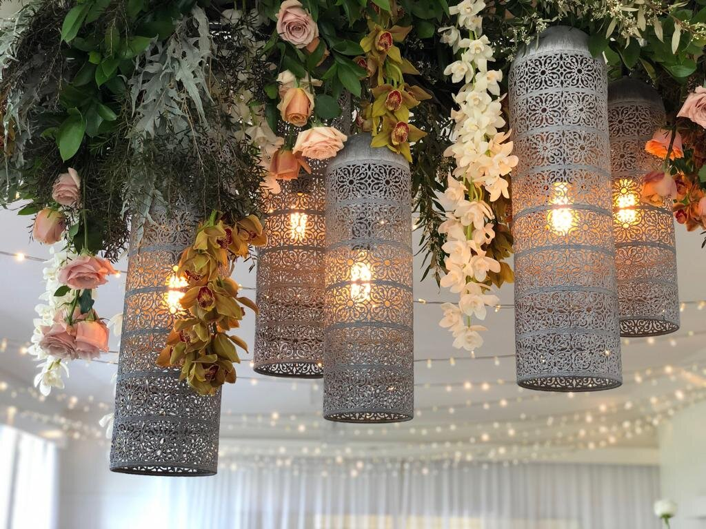 marrakesh pendant trio  600mm - 900mm  $185+gst for trio *install only