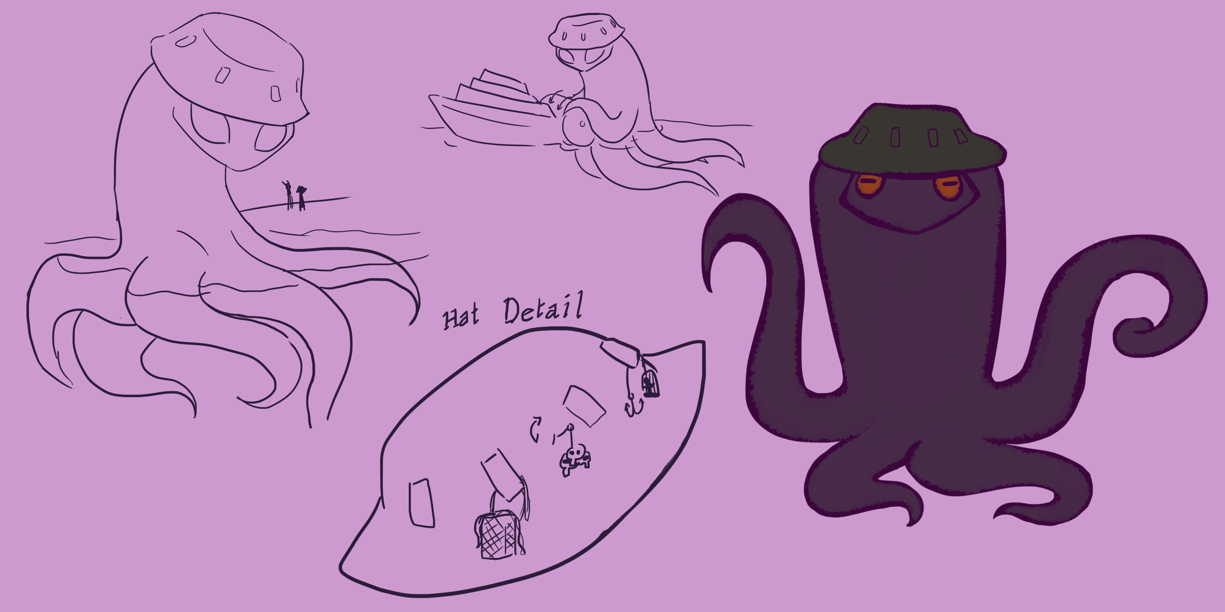 The Boatman Character Ref.