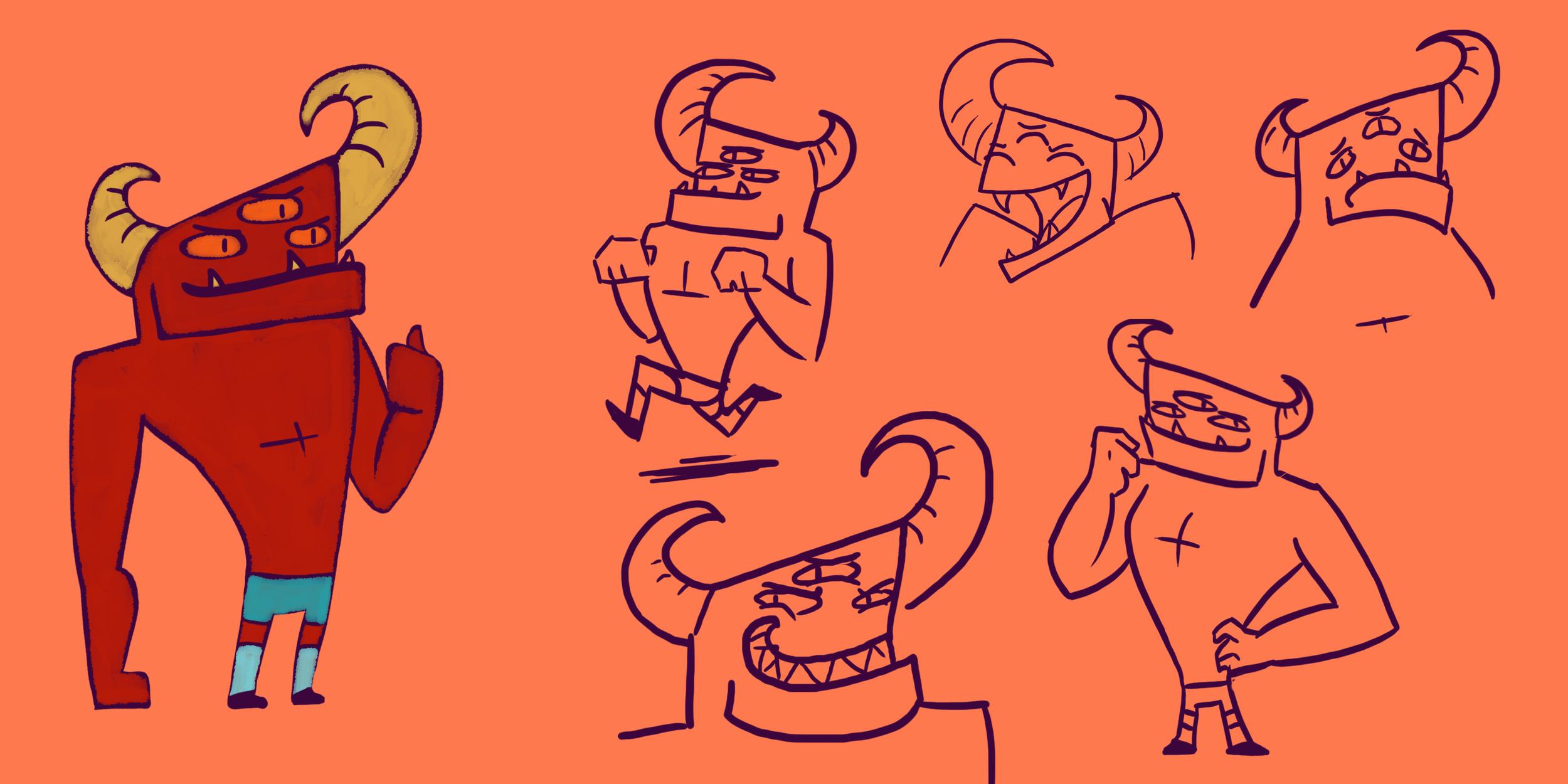 Yuckley Character Ref.