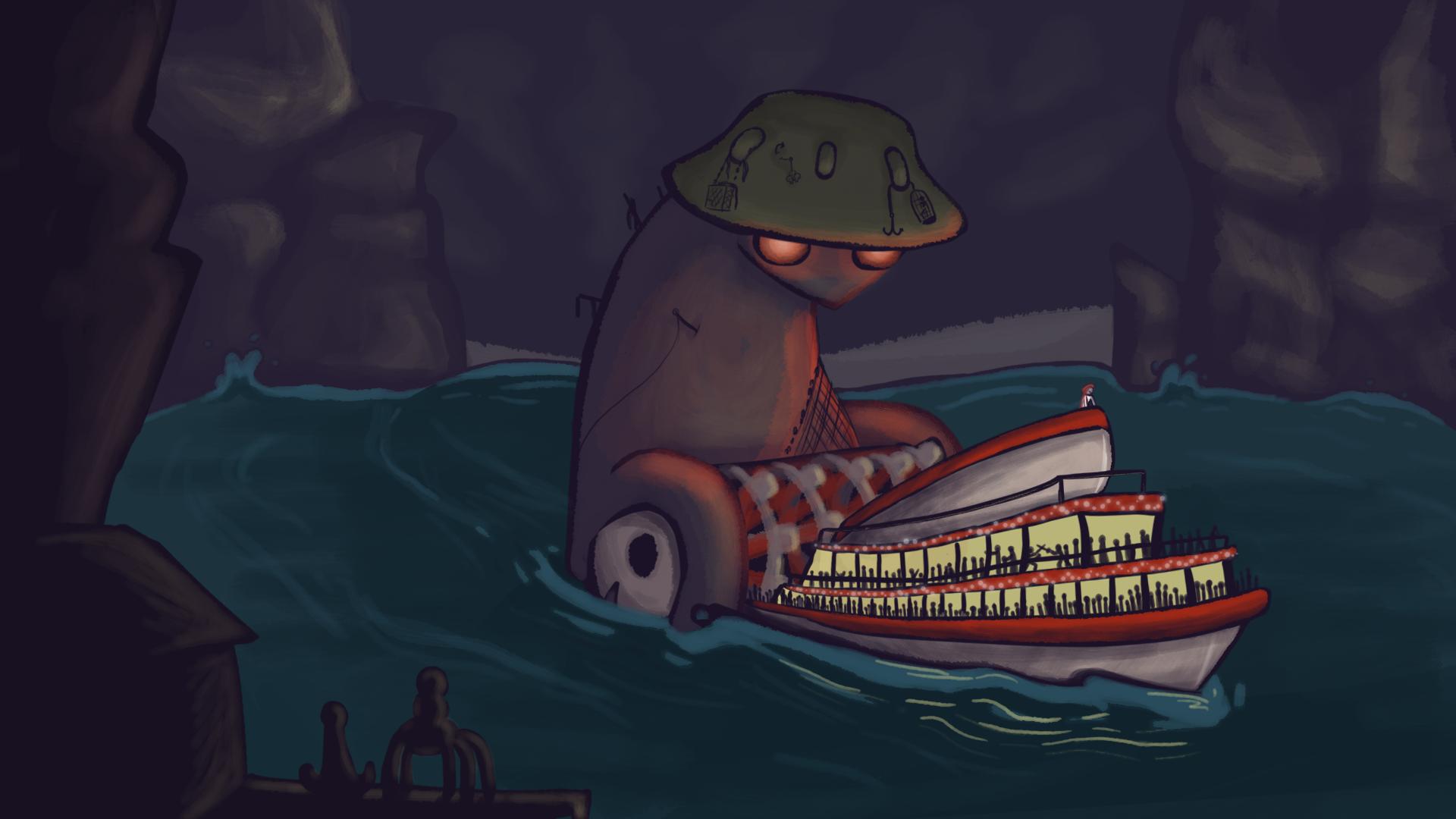 The Boatman's Ferry