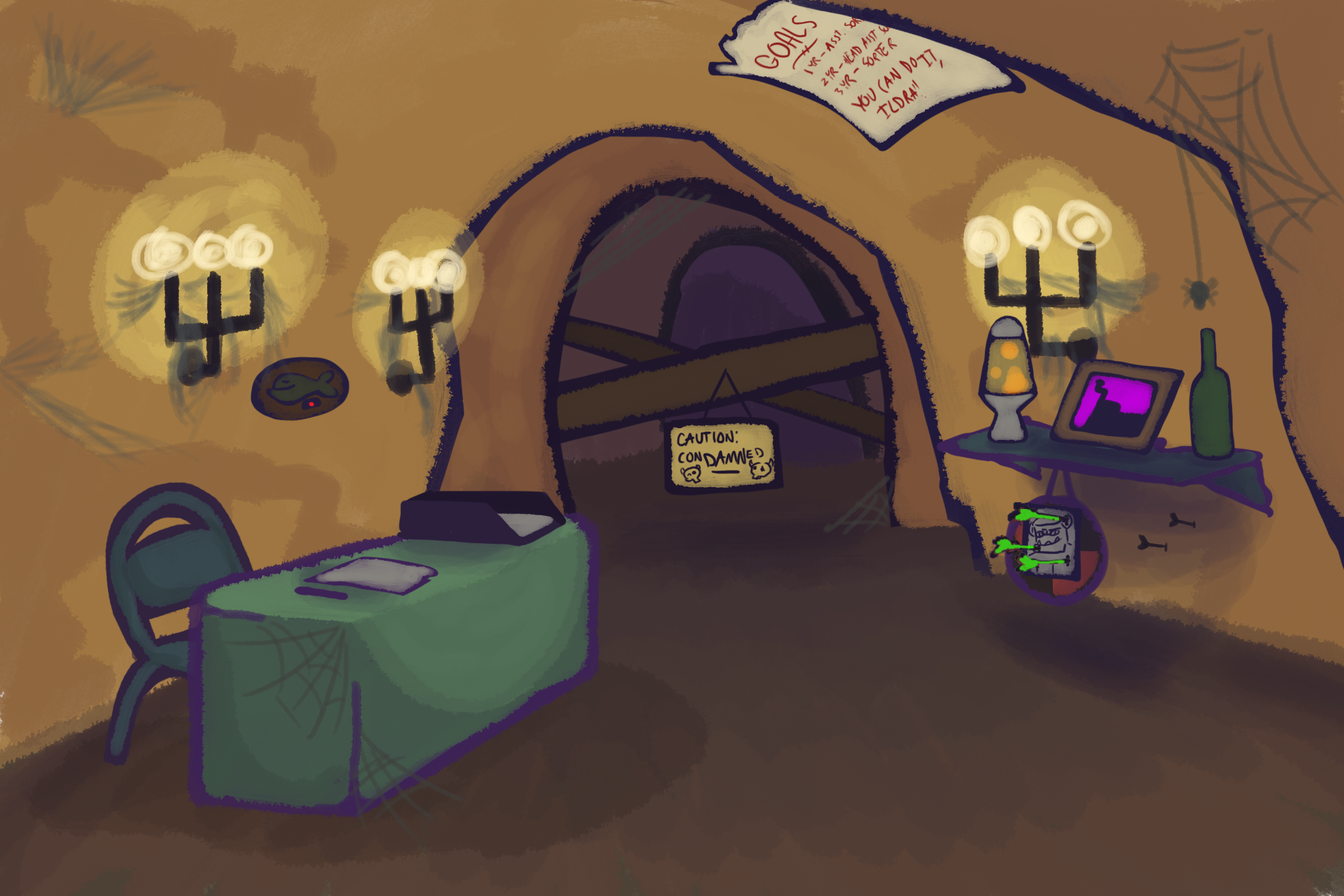 Ildra's Office (Lower Canyon)