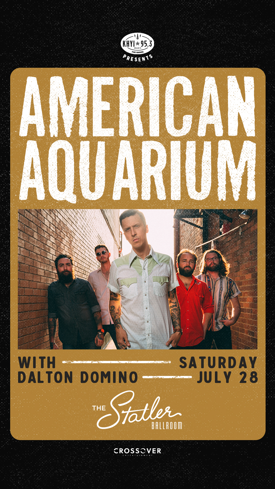 """American Aquarium is excited to announce their seventh studio album, Things Change,out on  New West Records . """"We recorded this album over nine days in Tulsa, OK with Grammy nominated  John Fullbright in the producer chair and  Wes Sharon (Turnpike Troubadours, Parker Millsap) sitting behind the knobs. It was mixed by  Ryan Hewitt (Johnny Cash, Red Hot Chili Peppers, Avett Brothers) in Nashville,TN and mastered by  Dave Collins (Bruce Springsteen, Weezer, Flogging Molly) in Los Angeles,CA."""" Don't miss the album release show at The Statler Ballroom.  Get tickets ."""