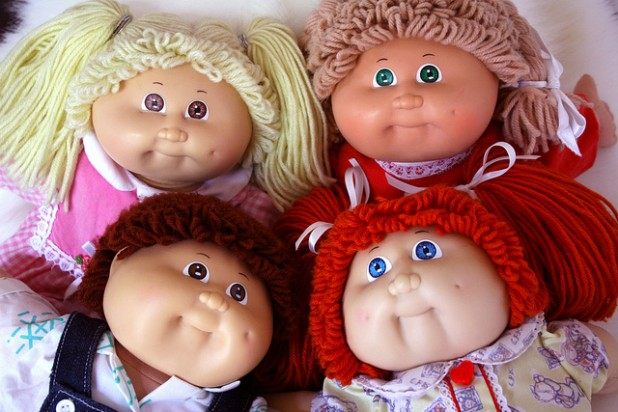 Cabbage Patch Kids were the hottest craze in the early-to-mid 1980's when parents did whatever they could to get their hands on one of these must-have toys.