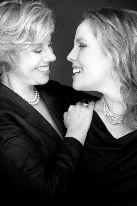 Erica Jong and her daughter, Molly Jong-Fast