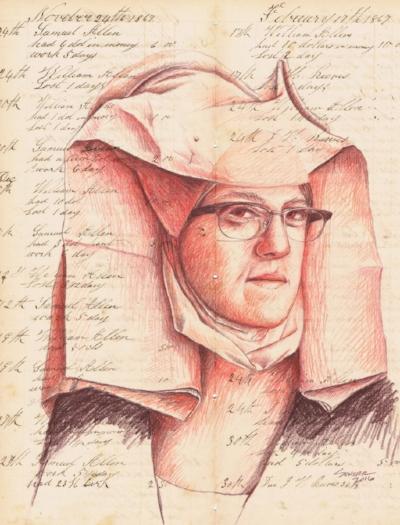 Natalie Schorr - Self Portrait after van der Weyden