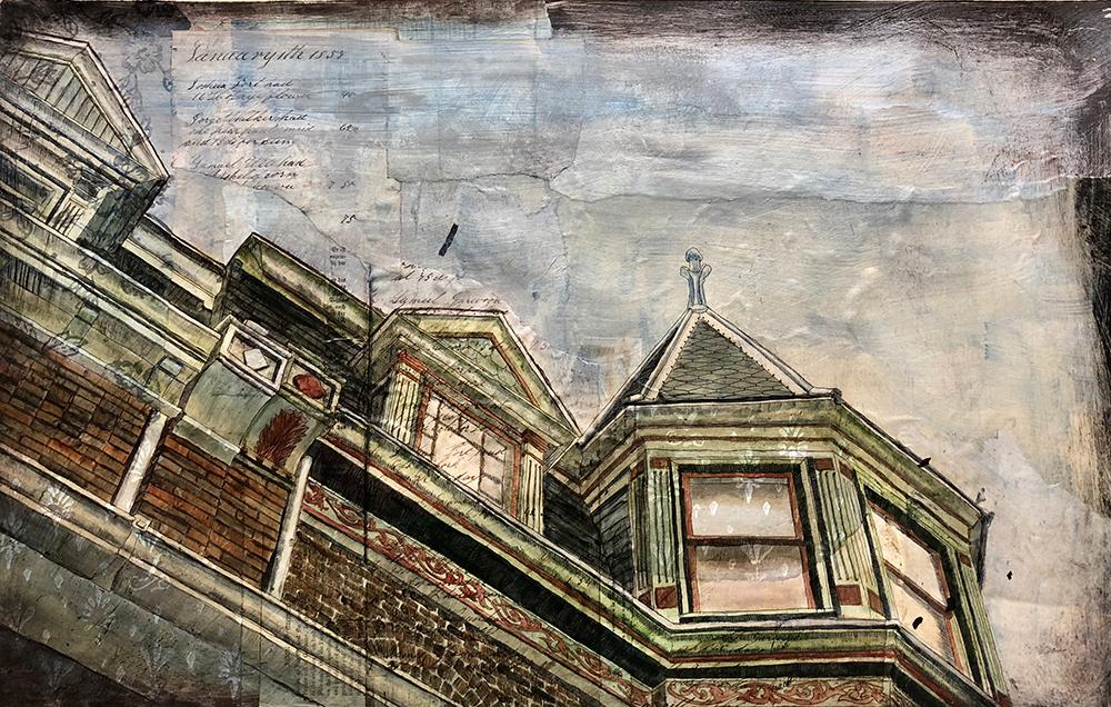 Rust Belt Row Houses, 3/4VE, Natalie Schorr 2018