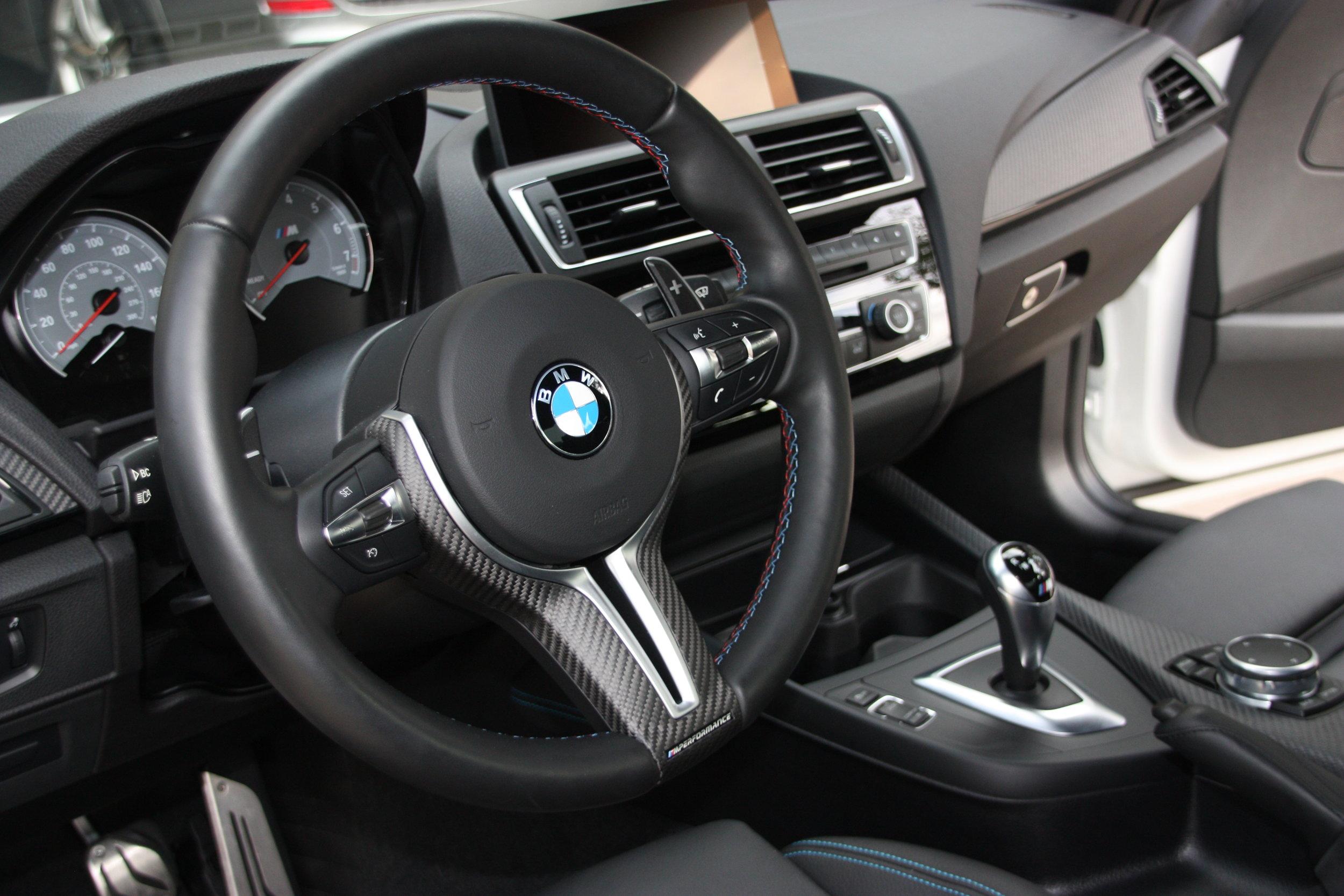 carbon fiber (matte) trim