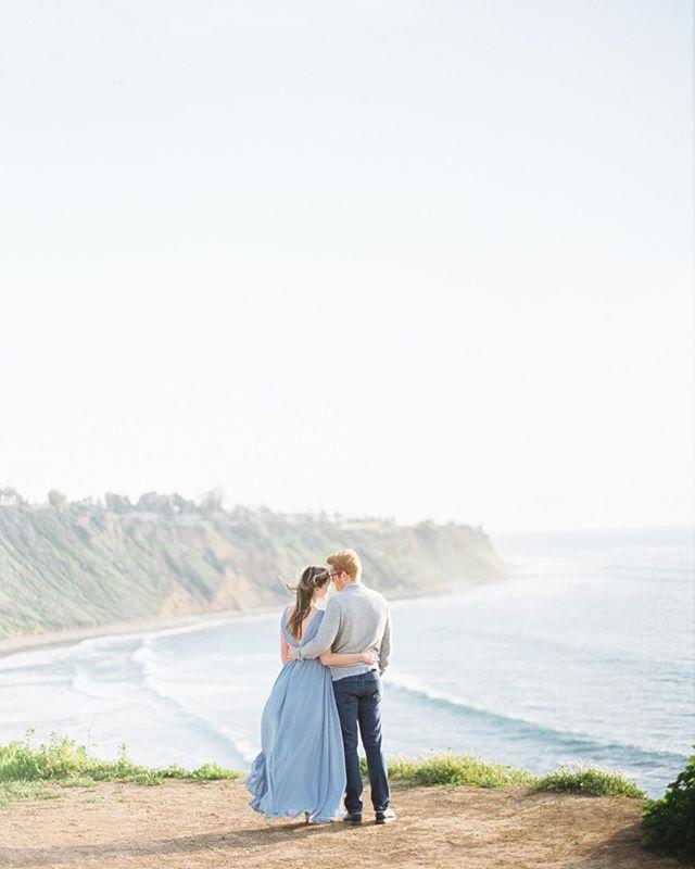 Charlotte & Jack | Palos Verdes Estates | #contax645 #fuji400h #photovisionprints