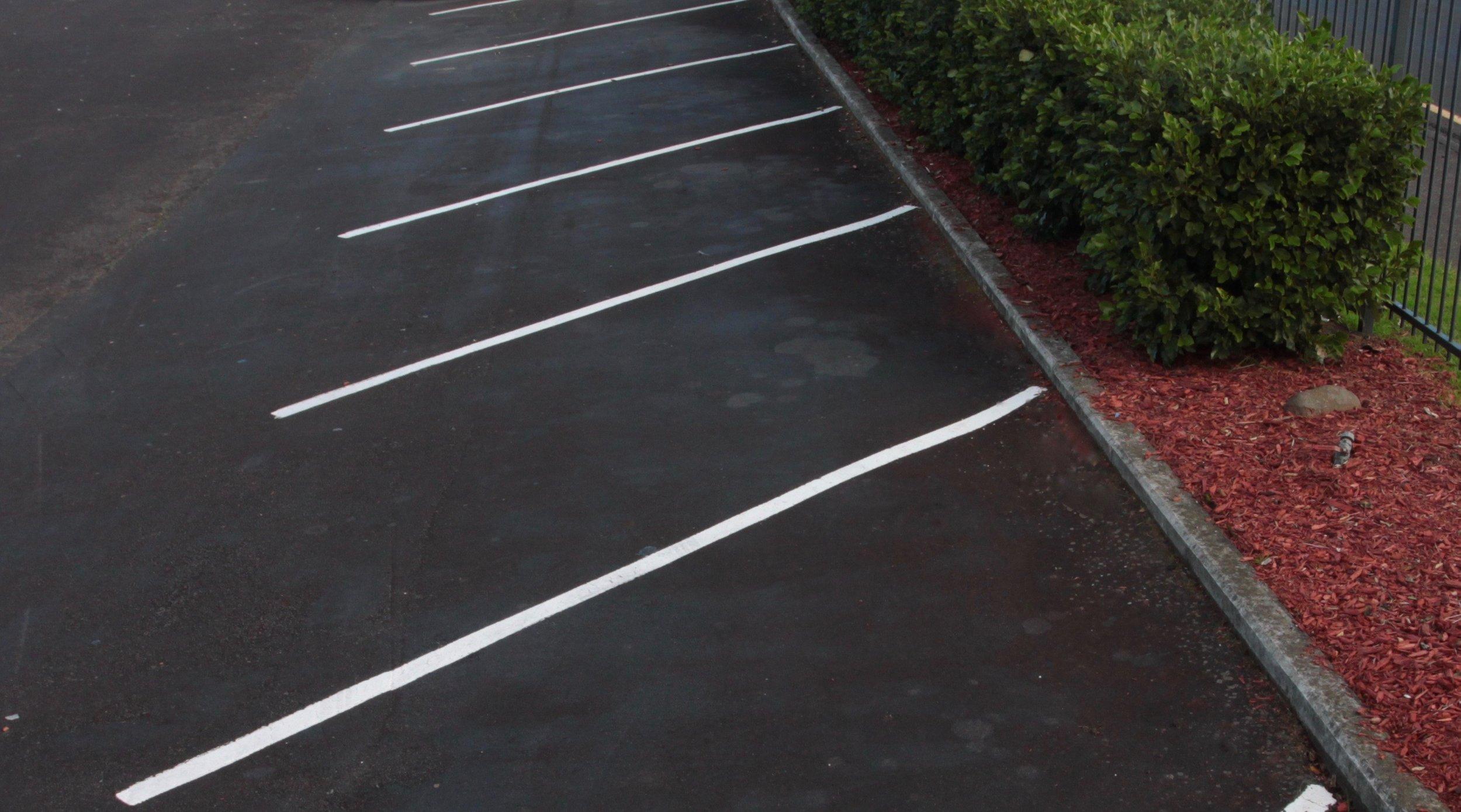 Car Park Carpark White Lines