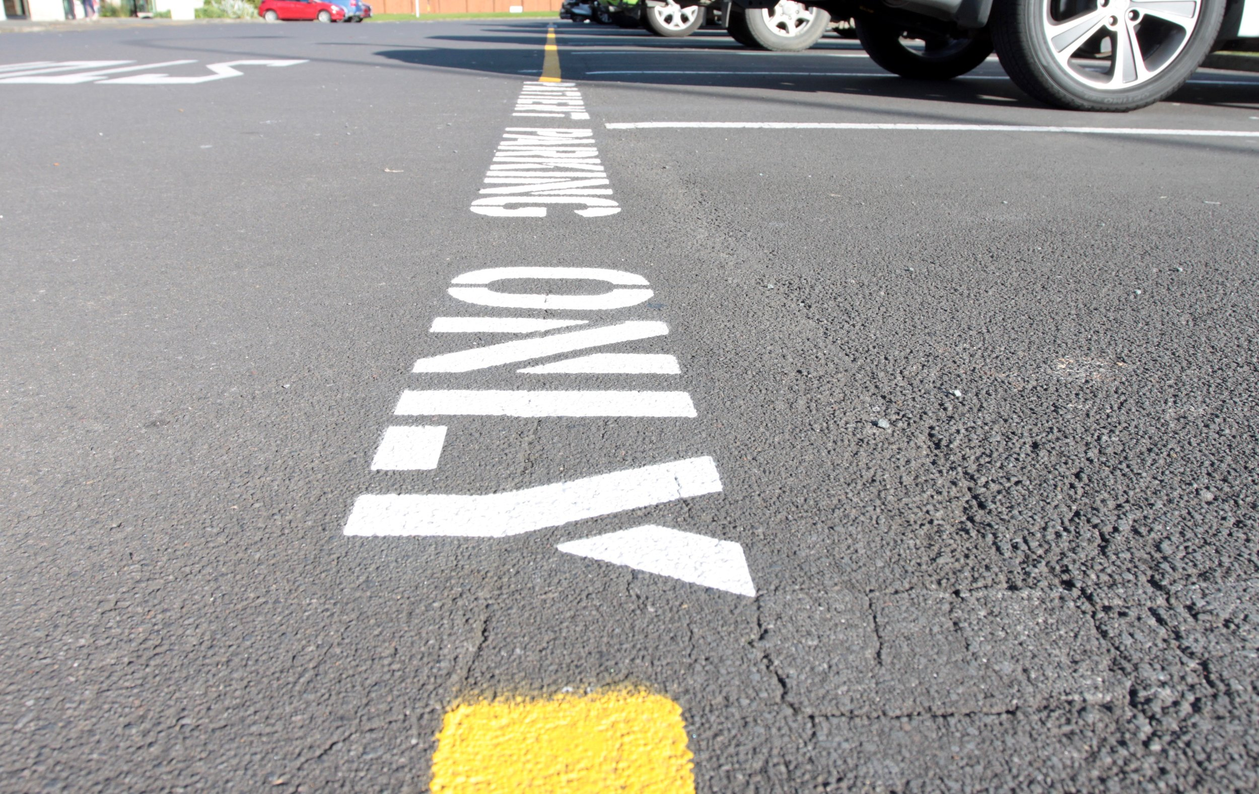 Car Park Carpark Stencil