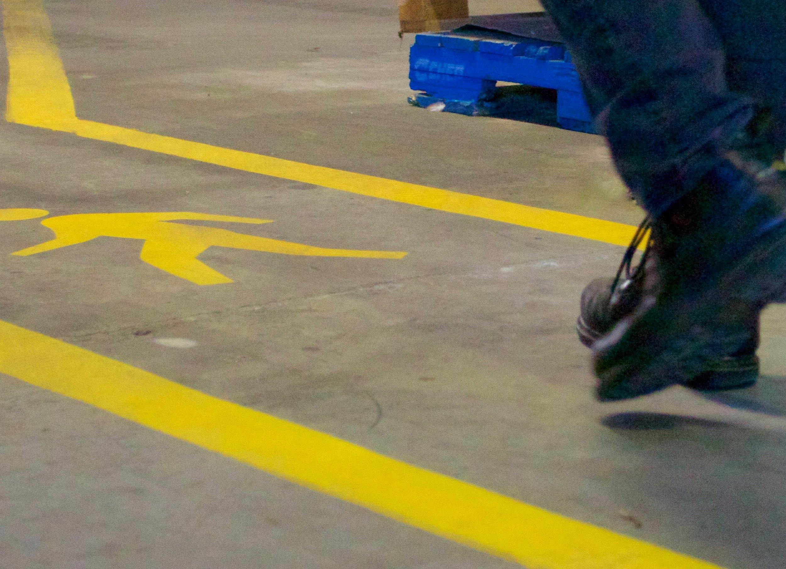 Warehouse marking
