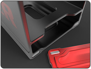 Feel the Force - Four-point magnetic closures on both covers ensure a securely closed box that you can hear in the reassuringly solid click. Machined thumb slots make opening your box easy.