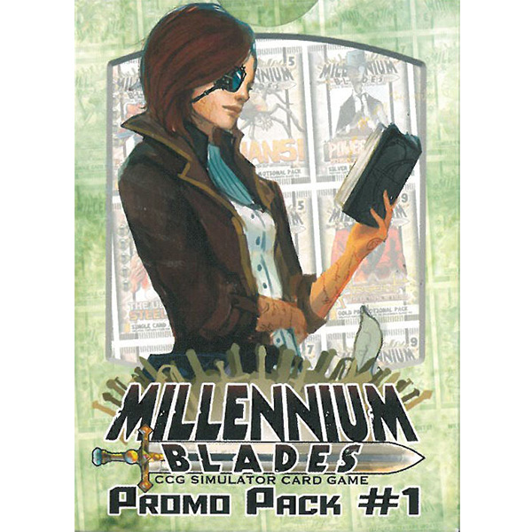 Crossover - Bring your favorite Level 99 Games Characters to Millennium Blades! This is an Expansion. Millennium Blades is required to play. Features 54 new cards from the Level 99 Games universe, including Mystic Empyrean, Seven Card Slugfest, Grimoire Shuffle, Power Play, Master Plan, and more!