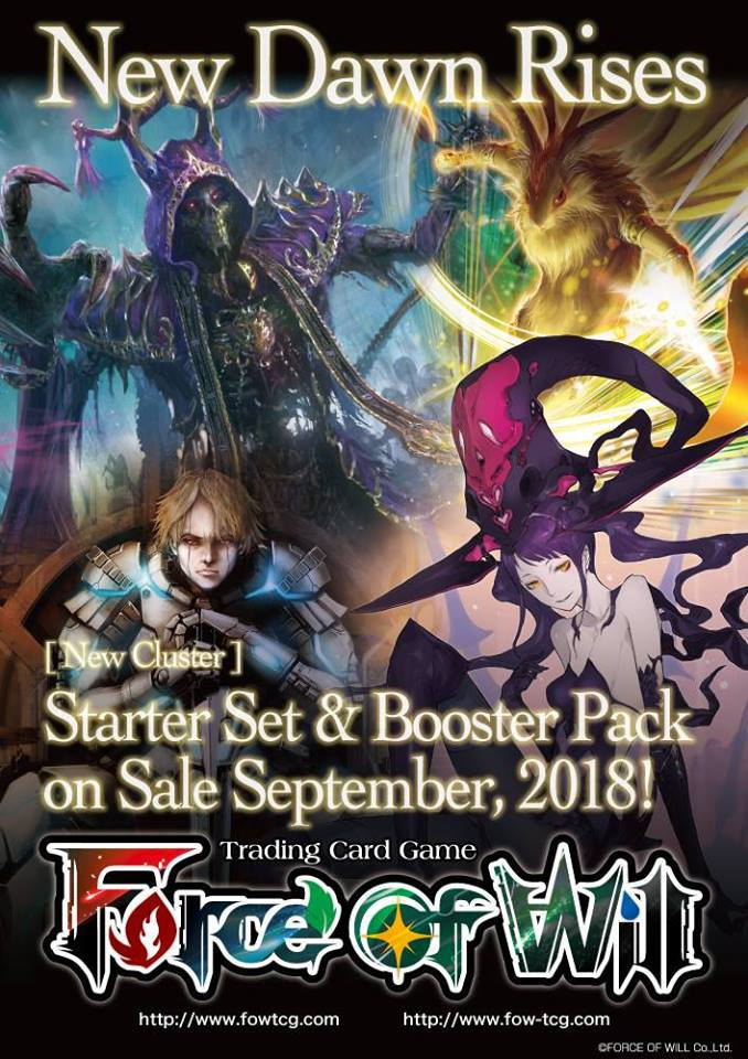 New Dawn Rises Booster Box - Retail:$126Releases September 14, 2018