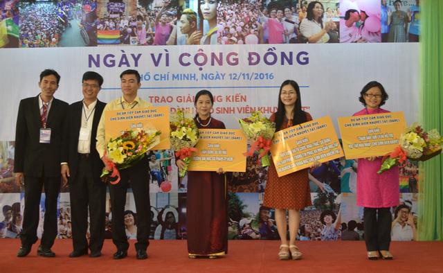 4 sáng kiến hỗ trợ sinh viên khuyết tật học tập được trao giải