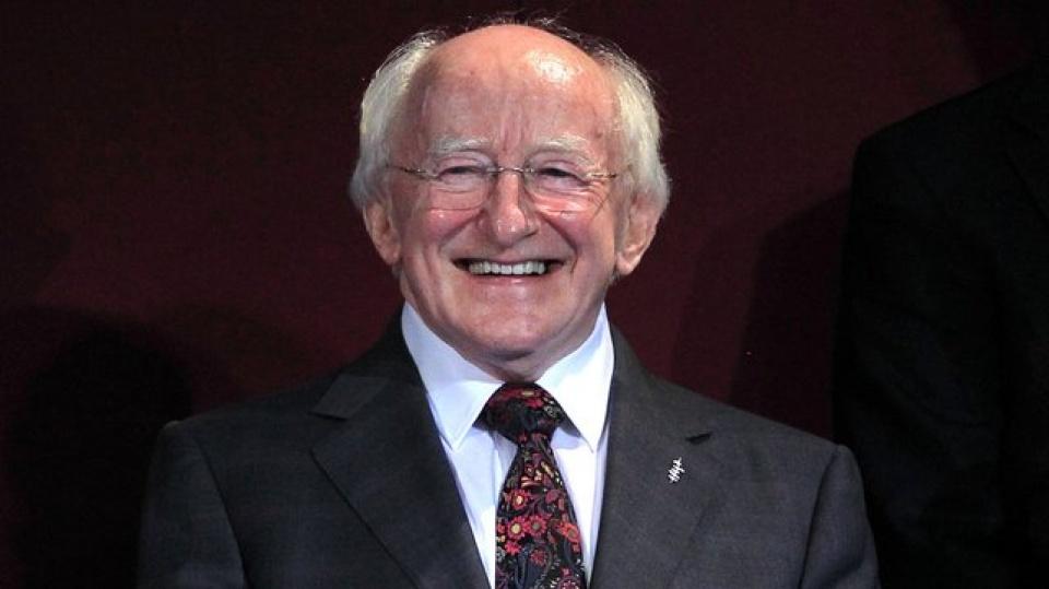 Tổng thống Cộng hòa Ireland Michael D. Higgins. (Nguồn: The Potato)