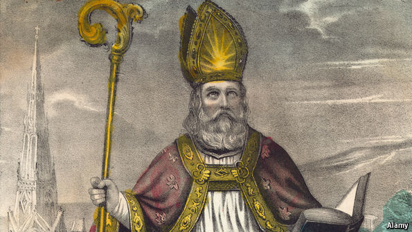 Thánh Patrick (nguồn ảnh: Google)