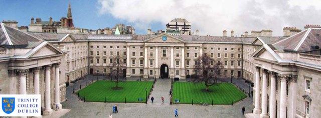 Toàn cảnh ngôi trường Trinity Dublin